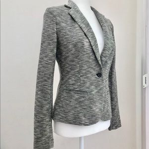 Fitted Blazer - Cotton Blend Fabric